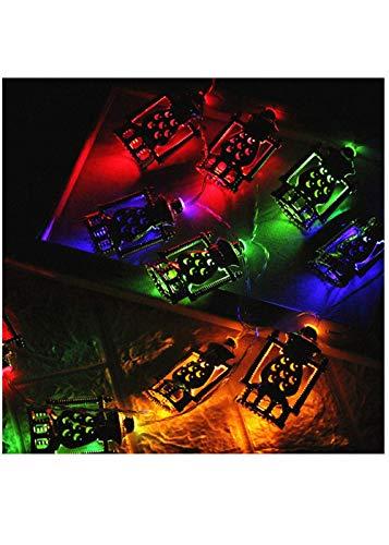 im Ramadan und Eid Decor Lights Garten Lampe für Zimmer Dekoration Party, Garten, Weihnachten, Halloween, Hochzeit, Beleuchtung Deko (Gelb) ()