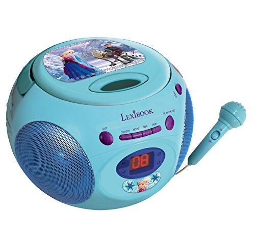 Preisvergleich Produktbild Lexibook RCD102FZZ - Disneys Frozen CD-Player mit Mikro