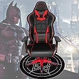 Jeu Chaise Haute Qualité Ergonomique Fauteuil D'ordinateur Iron Man/Spiderman/Captain America Home Cafe Jeu Sièges Competitive Patron Chair + Tapis Black Batman