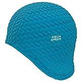 AQUA-SPEED Damen Badekappe Schwimmkappe Bombastic Tic-Tac 01, blau