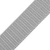 BIG-SAM - 10581 - 20mm Gurtband - Polypropylen - 1, 5 oder 10 Meter Angebote (10 Meter, Hellgrau (89))