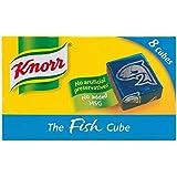 Knorr - Pastillas de caldo de pescado - Caja de 8 cubos - 80 g - Pack de 8 unidades