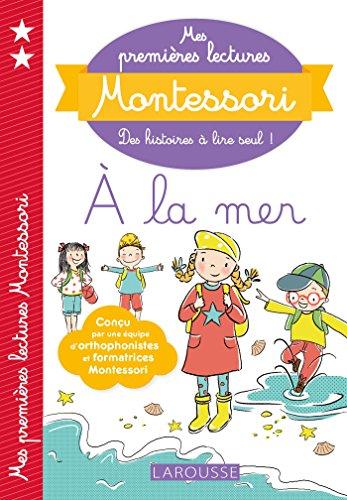 Mes premières lectures Montessori, À la mer par Anaïs Galon