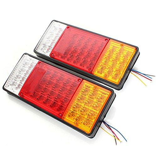Preisvergleich Produktbild Pinkdose® 2x 44 LEDs Anzeige Rücklicht UTE Bootsanhänger LKW Wasserdicht