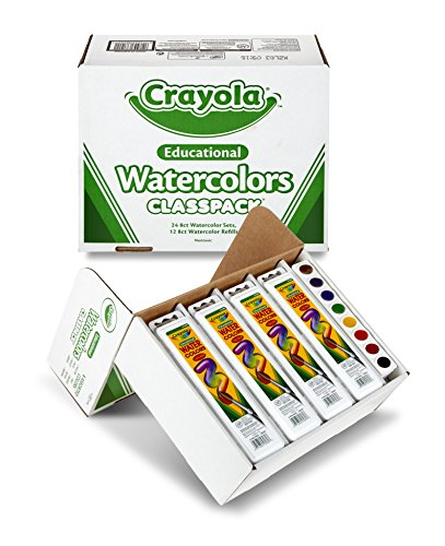 Crayola educational watercolors classpack by crayola