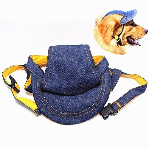 Sombrero para perro al aire libre, gorra de vaquero de verano para protección solar para perros