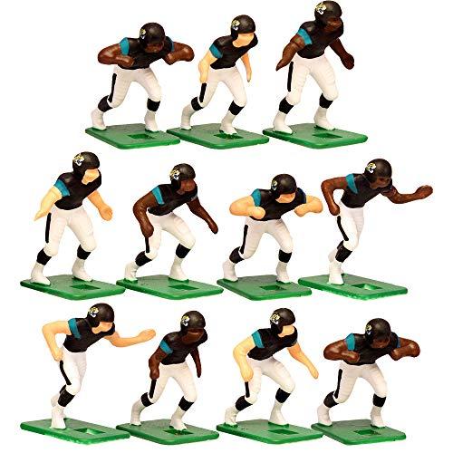 Jacksonville Jaguars?Dark Uniform NFL Action Figure Set by Tudor Games