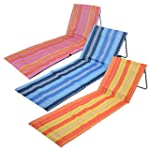 Trail Stripe Beach Mat Chair