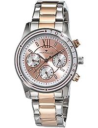 TOM TAILOR Watches Damen-Armbanduhr Analog Quarz Edelstahl beschichtet 5414603