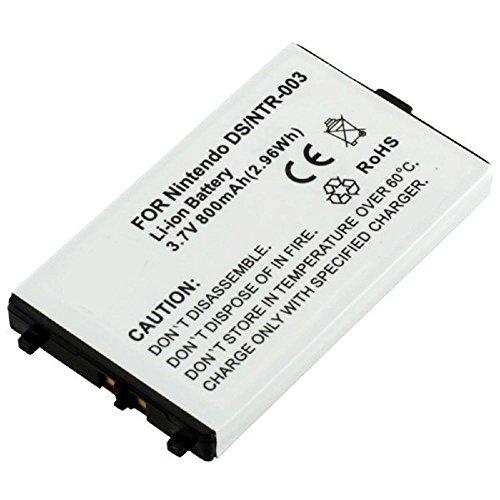subtel® Qualitäts Akku für Nintendo DS (800mAh) NTR-003 Ersatzakku Batterie