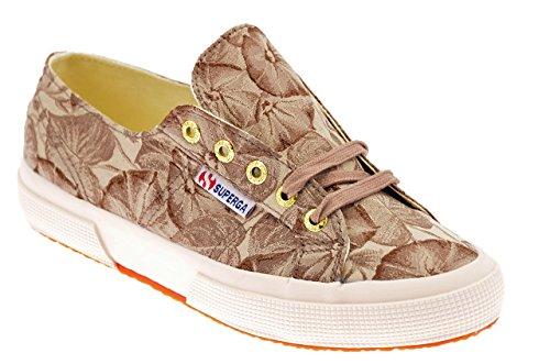 Superga 2750 Fabricw Vanity, Chaussons Sneaker Adulte Mixte Beige - Beige (Natural)