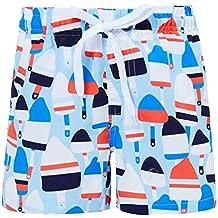 Fanient Pantalones Cortos para niños Chicos de Surf Pantalones Cortos de natación para niños Traje de