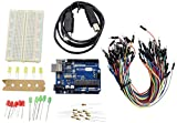 #8: REES52 R3_400 Basic Starter Kit Arduino UNO Breadboard LED Jumper Wire for Arduino