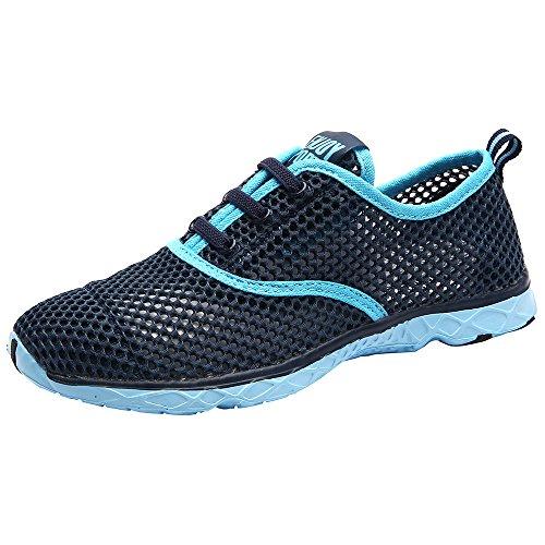 Aleader Damen Aqua Schuhe Breathable Ineinander Greifen Wasserdicht Schlüpfen Schnell Trocknend Schwimm Surf Strand Yoga