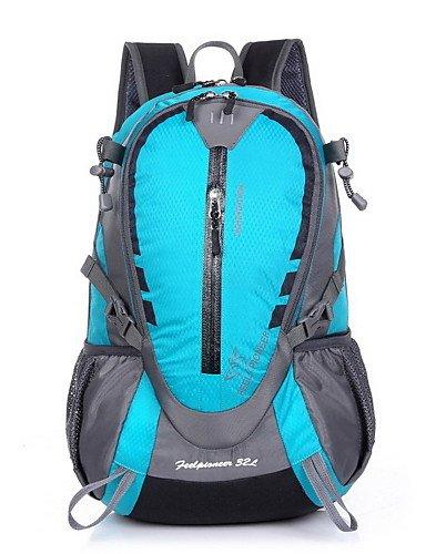 ZQ 32 L Tourenrucksäcke/Rucksack Camping & Wandern Draußen Wasserdicht / Schnell abtrocknend / tragbar / Atmungsaktiv andere Nylon other Blue