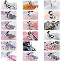 Máquina de coser doméstica Prensatelas Accesorios de costura multifuncionales Conjunto de traje para prensatelas de 42