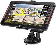 LKW Navigationsgerät für Auto GPS Navigation 7 Zoll 32GB Touchscreen Lebenslang Kostenloses Kartenupdate Sprac