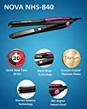 Nova NHS - 840 Professional Series Straightener for Women (Pink)