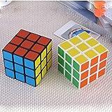 Mallalah Speed Cube 3 Piezas 3 x 3 fácil de Girar Puzzle Infantil Juguete Educativo Cubing Classroom Smooth Puzzle Juego de Cubos