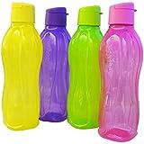 Tupperware Lote de 4 botellas con pestaña de cierre en el tapón (750 ml)