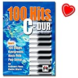 100 tubes en do majeur bande 5 100 oldies eve greenstuff rock morceaux de pop folck pour clavier piano piano guitare songbook avec color? coeur note pince