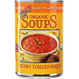 Amy's - Bisque fornido del tomate de la sopa baja orgánica del sodio - 14,5 oz.