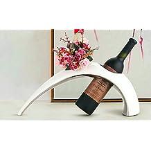 CLG-FLY rack vino ornamenti in stile minimalista moderno soggiorno idee bottiglia di vino con ripiano ristorante home decorazioni,1