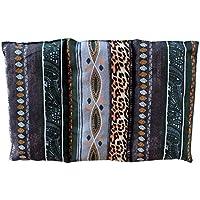 """Cuscino termico """"Africa"""" - 26 x 16 cm (M / L) - pieno di noccioli di ciliegia 330gr - effetto freddo/caldo . saco termiche"""