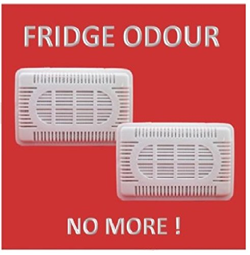 Fridge Fresh Air Freshener Odor absorber Bad Smells Deodorizer Supply  de-odouriser Pack eliminates Refrigerator Kitchen Odors Carbon Crystals by