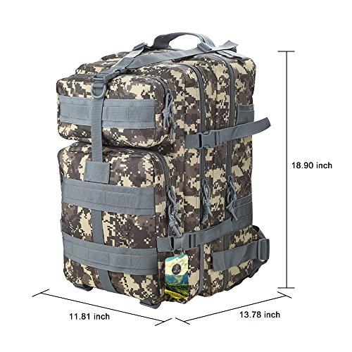 Imagen de topqsc  militar impermeable de moda 30l para excursionismo montañismo y viaje al aire libre  deportiva de alta calidad 5 colores  acu 45l  alternativa