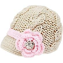 Sombrero con visera Bestknit para niña bebé b021d1482e1