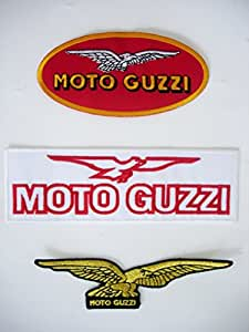 MOTO GUZZI patch - set of 3 pieces