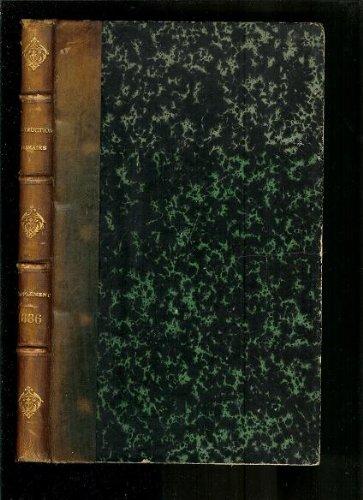 Manuel General de L'Instruction Primaire Supplement tome X - Annee 1886