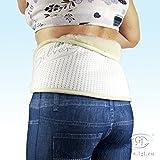 Nierenwärmer Rückenwärmer 100% Kaschmir Merino Wolle & Silber Back kidney warmer Nierengürtel Wärmegürtel