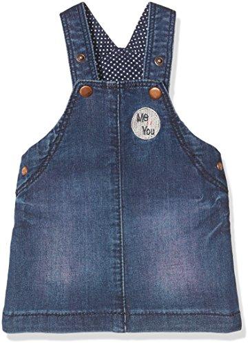 Noppies Baby-Mädchen Kleid G Salodress Gering, Blau (Blue Denim C301), 74