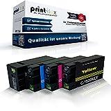 4x kompatible Tintenpatronen für Canon Maxify MB2000Series MB2050 MB2300 PGI1500XL PGI1500 XLBK PGI1500 XLC PGI1500 XLM PGI1500 XLY Schwarz - Black Cyan Magenta Yellow