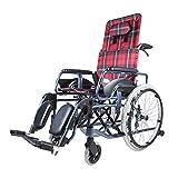 T-Day Rollstühle Rollstühle, Rollstühle Klappbare Leichte Selbstfahrende, Full/Semi-Recumbent Wheelchirm, Aluminium Rollstuhl