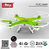 Drone Attop Quadricottero Radiocomandato 2,4 con Camera Colori Assortiti Rc
