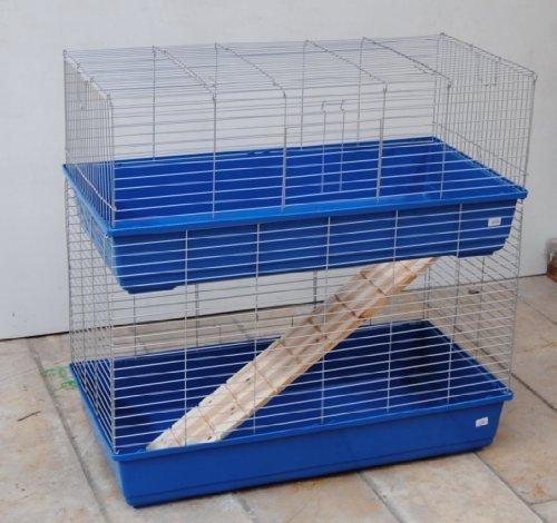 Cage pour cochon d'Inde Cage Pour Lapin Cage Double cage 1m.