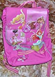 ZAINO SCUOLA ROSA/PINK BACKPACK BAG WINX CLUB DANCE ACADEMY con grafica con FLORA,AISHA,STELLA,BLOOM