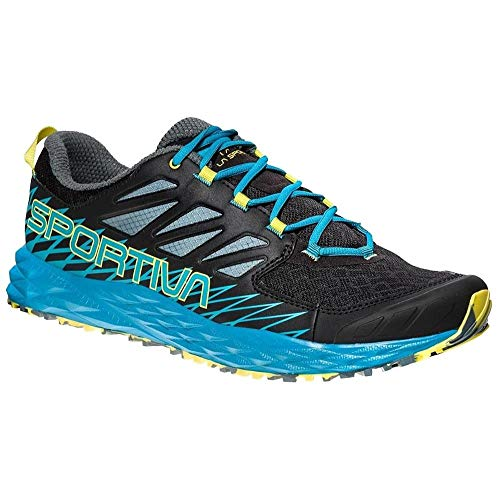 La Sportiva Lycan, Scarpe da Trail Running Uomo, Multicolore (Black/Tropical Blue 000), 44.5 EU