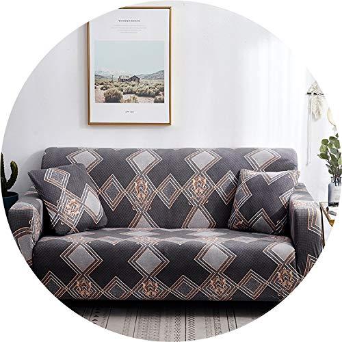 XFkbeA Blumendrucke Stretch Elastic Sofabezug Baumwolle Sofa Handtuch Rutschhemmende Sofabezüge für Wohnzimmer, colour22,1 Sitzer 90-140cm