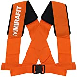MiraFit Schulter-Zuggeschirr und Zuggurte für Power-Schlitten – Für Strongman- und Bootcamp-Training