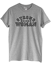 Rock Paper Sisters Unisex Slogan T-Shirt: Strong Woman