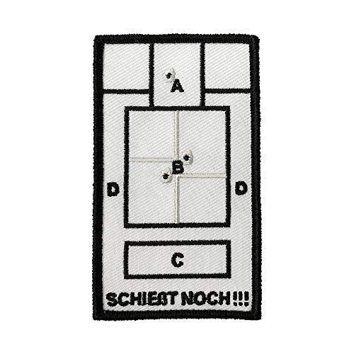 Café Viereck ® Bundeswehr Fun Patch Gestickt mit Klett - 9,6 cm x 5,8 cm