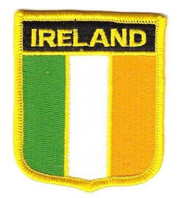 Wappen Aufnäher Patch Irland Flagge Fahne NEU (Irland Wappen)