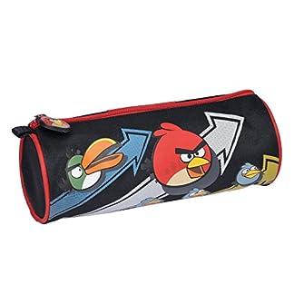 Angry Birds–Neceser–bolsa Negro y Rojo