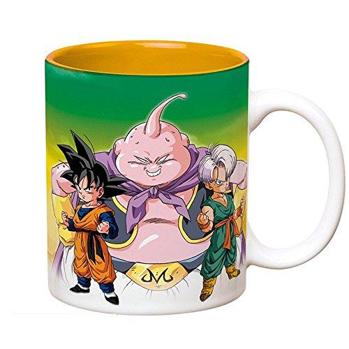 ik Tasse - Son Goku & Goten Vs Boo - Geschenkbox (Dragon Ball Z Cell Kostüm)