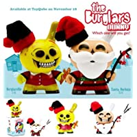 The Burglars Dunny Xmas Edition by kidrobot and Saner