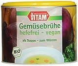 VITAM Gemüsebrühe hefefrei, 3er Pack (3 x 210 g)